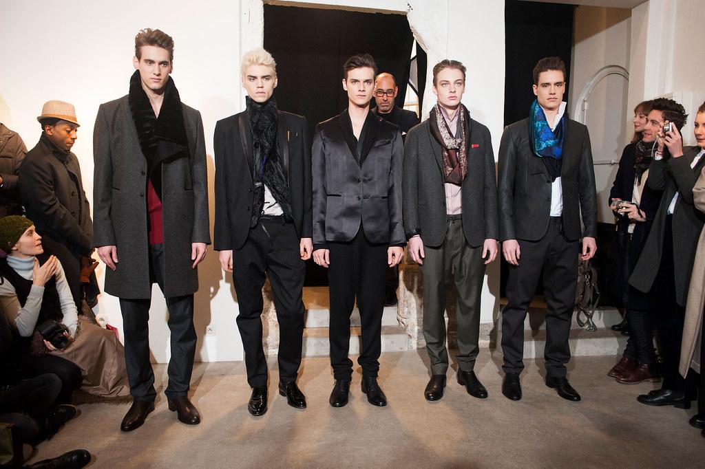 FW13 Paris Gustavolins016_Robin Barnet,Maxim Mitrofanov,Douglas Neitzke,Roberto Sipos,Torbjorn Vinding Merinder(fashionising.com)