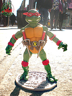 TEENAGE MUTANT NINJA TURTLES - CLASSIC COLLECTION :: RAPHAEL viii (( 2012 ))