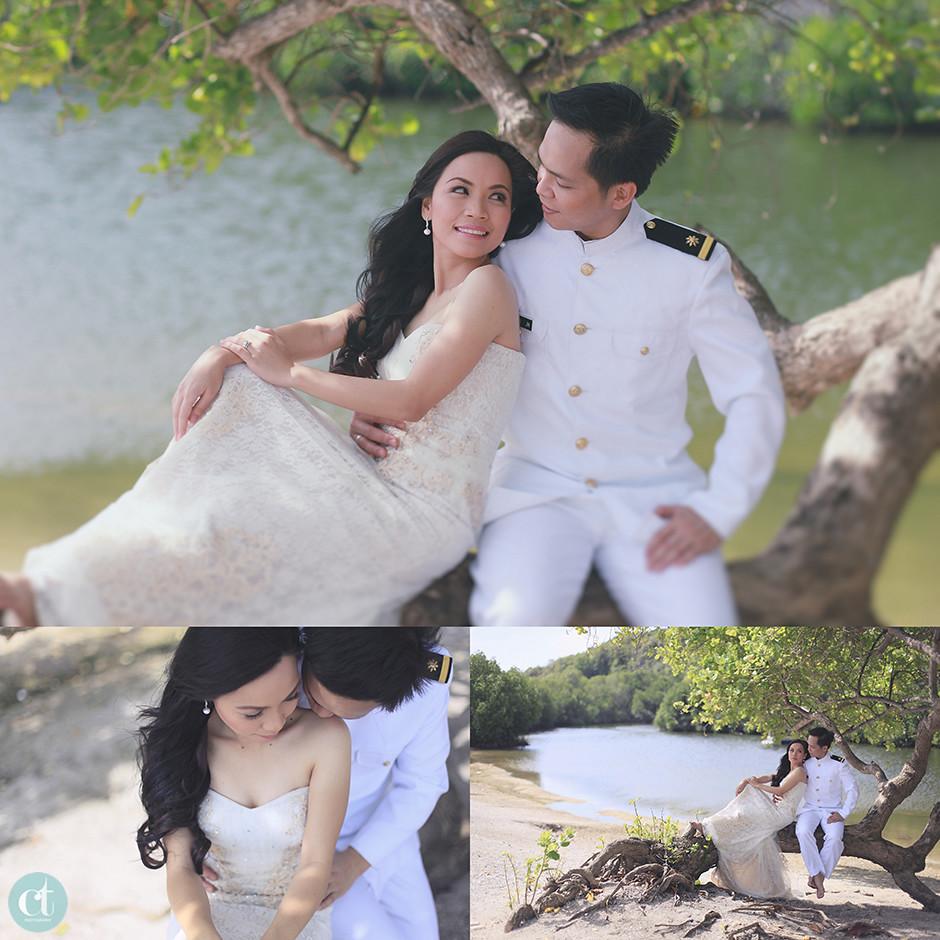 Cebu Modern Vintage Theme Postnup, Cebu Vintage Post-Wedding Session
