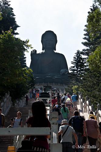 Gran Buda de Tian Tan en la isal de Lantau, Hong Kong