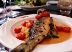 Seabass by Restaurant Pastis