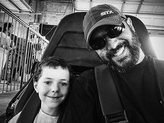 My go-cart date! #adventureparkusa #vsco #vscocam #labordayweekend #family