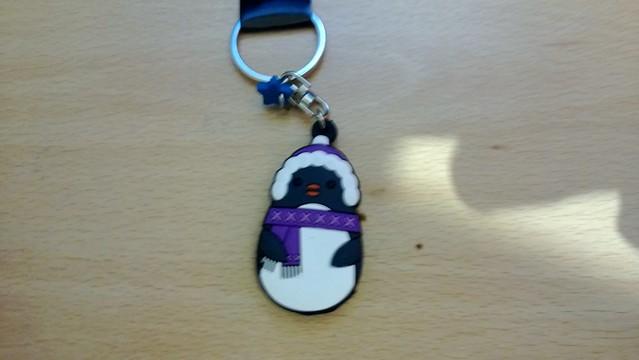 Penguin Keyring
