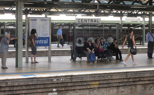 Sydney Central station