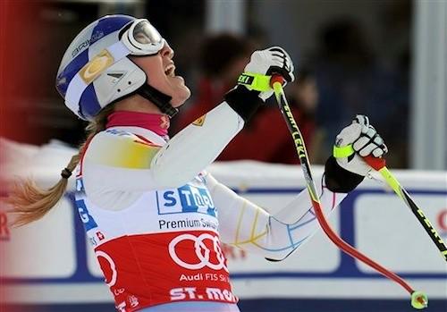 Lindsey Vonn, St. Moritz