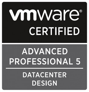 VMware Certified Advanced Professional - Datacenter Design