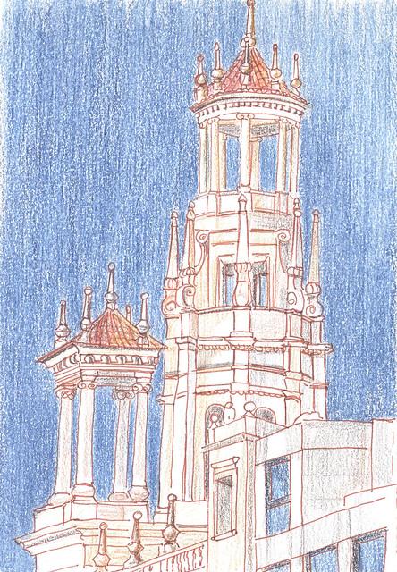 Torres Ayuntamiento de Valencia