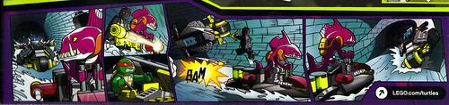 "LEGO Teenage Mutant Ninja Turtles :: ""Stealth Shell in Pursuit"" ..box iii [[ comic Isolated ]] (( 2013 ))"