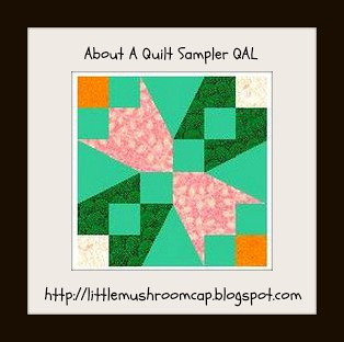 About A quilt logo