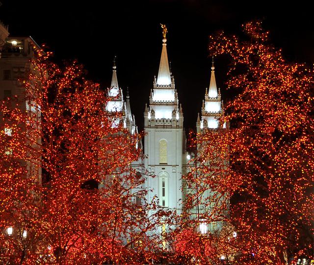 Christmas At The Lake: Salt Lake Temple Christmas Lights 2012
