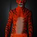 Tiger Human Statue Bodyart