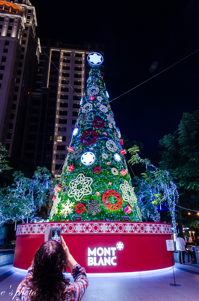 2012 台中聖誕樹 市政府 大遠百 新光三越