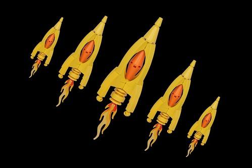 Retro Rockets by pasukaru76