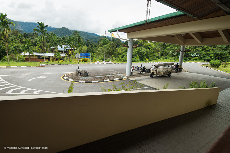 airport in Mulu National Park, Malaysia