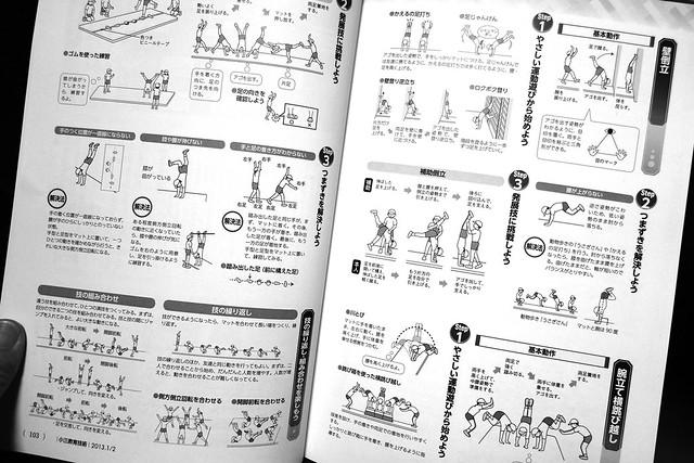 小学館「小三教育技術」(マット運動の指導法)-2