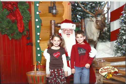 Bass Pro Santa