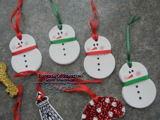 Baking Soda Ornaments