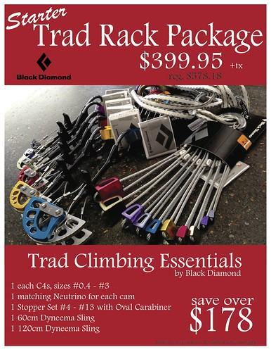 Trad Rack Package Sign
