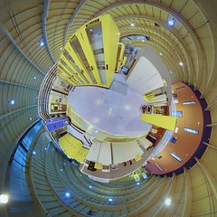 Inside the SLS, stereographic