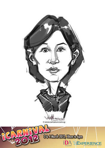 digital live caricature for iCarnival 2012  (IDA) - Day 2 - 36