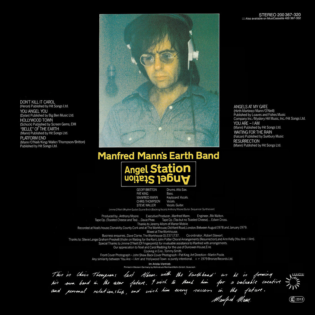 Manfred Manns Earth - Band - Angel Station