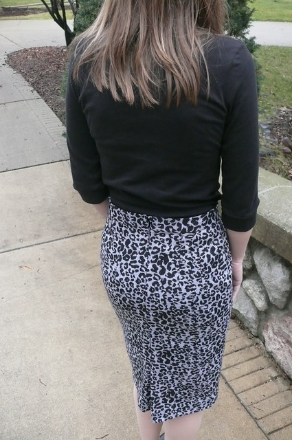Leopard Print Jersey