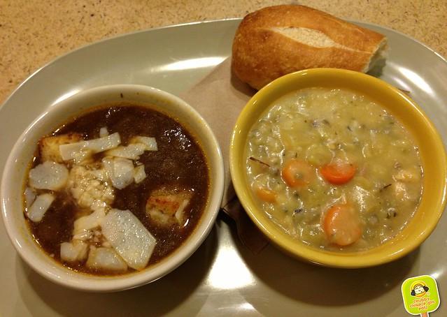 panera bread - soups