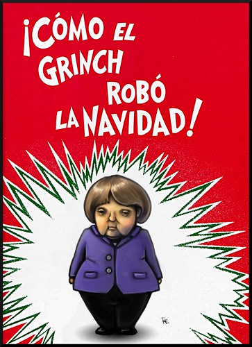 !Cómo el Grinch robó la Navidad ! How The Grinch Stole Christmas (in Spanish) by Teacher Dude's BBQ