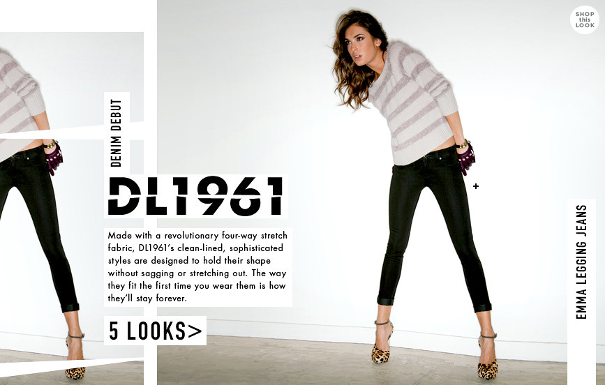 Shop Bop DL1961 Denim Goes Lady Like Emma Legging Jeans