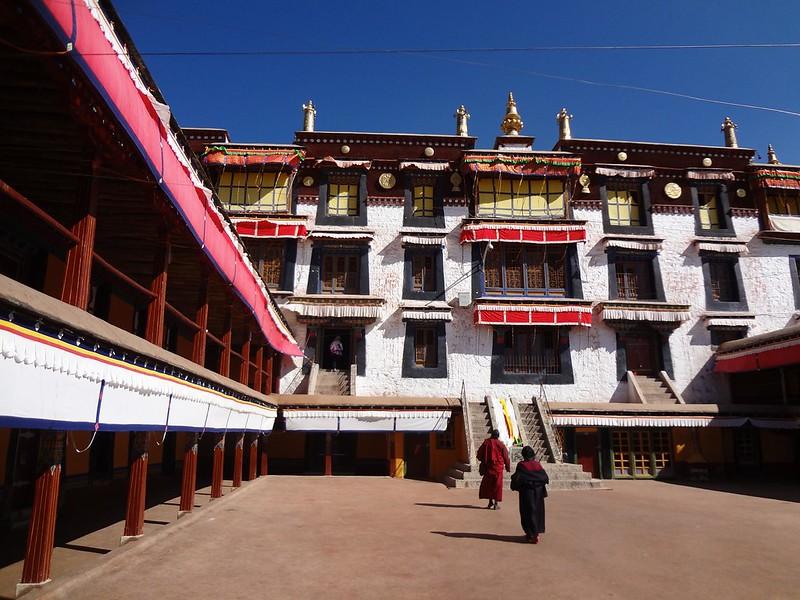 Mosteiro Drepung no Tibete