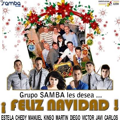 Grupo Samba 2012 - Felicitación