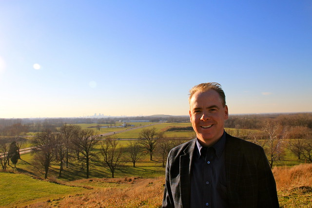 DXO on Monks Mound at Cahokia Mounds, 12-12-12