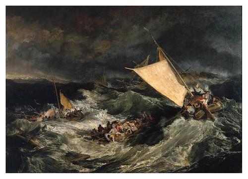 006-El naufragio-1805- J. M. W. Turner-pintura al oleo-via tate.org.uk