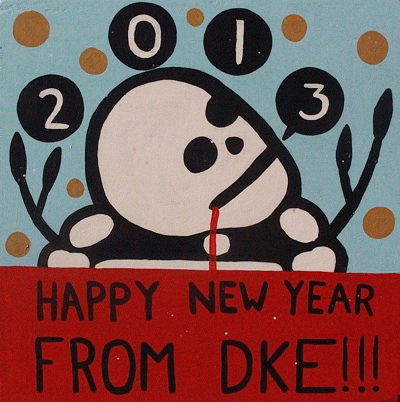Happy New Year from DKE 2012 by Mike Egan