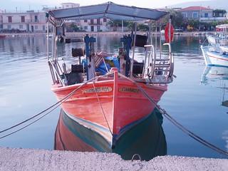 Greziako barku bat