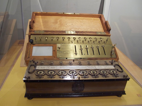 Old calculating tools