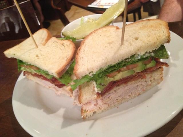 Times Square sandwich - Giovanni Pastrami