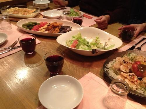 グスベリのディナー