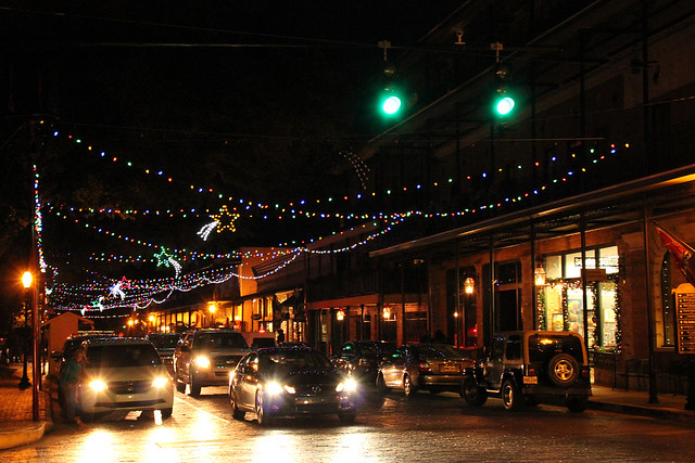 Natchitoches in lights