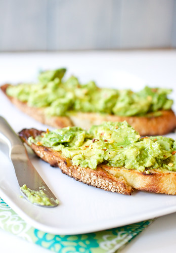 Smashed Avocado Chile Tartine