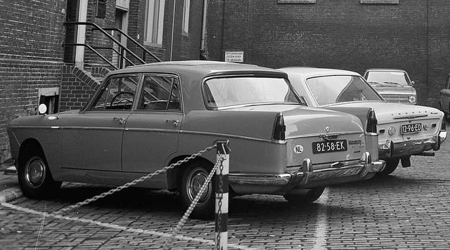 Wolseley 6/110 & Ford