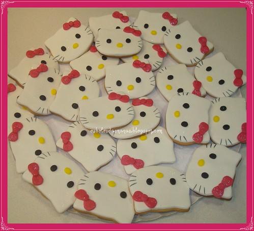 Bolachas Hello Kitty Dia da Criança by Osbolosdasmanas