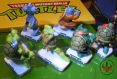PRIME :: TORTUES NINJA  porcelain miniature prototypes vi (( 2009 ))