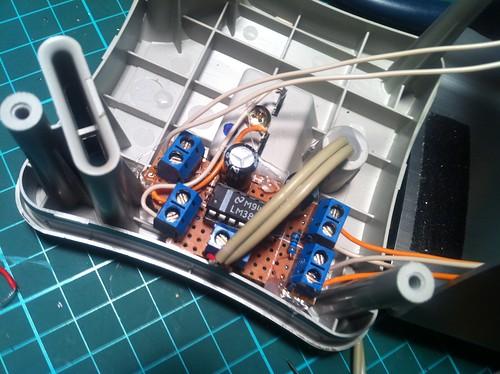 Installed Amp