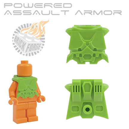 Powered Assault Armor - Lime Green