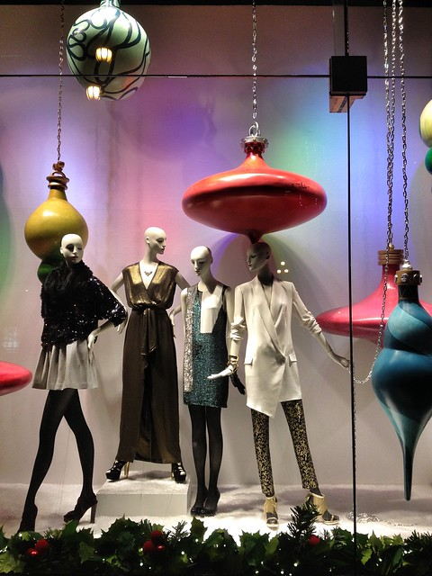 Nordstrom Holiday Window Display