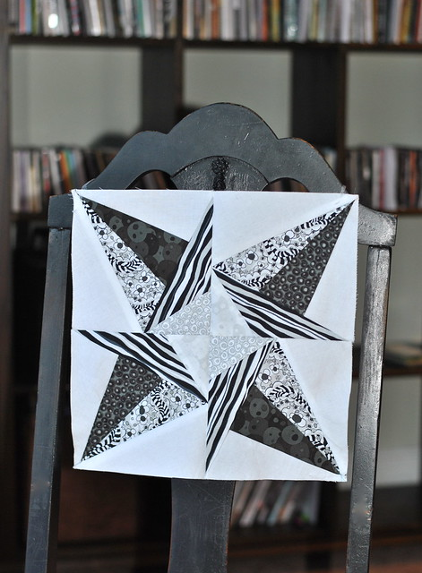 Lucky Stars Quilt Block: January