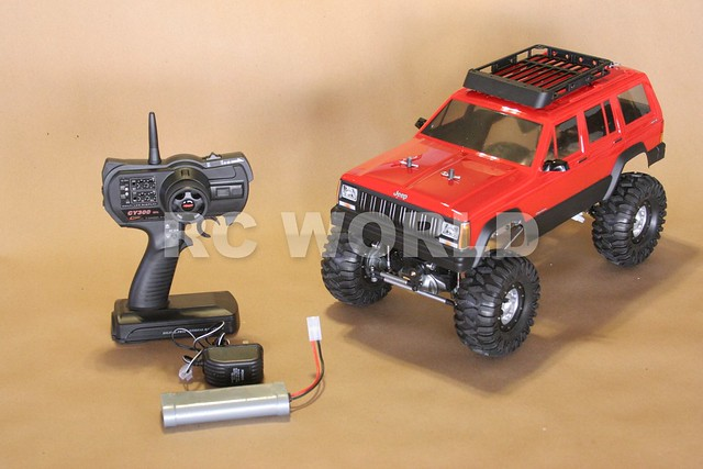 Jeep Cherokee RC Rock Crawler http://www.flickr.com/photos/radiocontrolrc/8337418551/