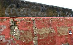 Faded Coca-Cola Mural - Bristol, TN