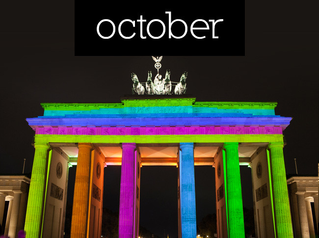 überlin's highlights of 2012: October